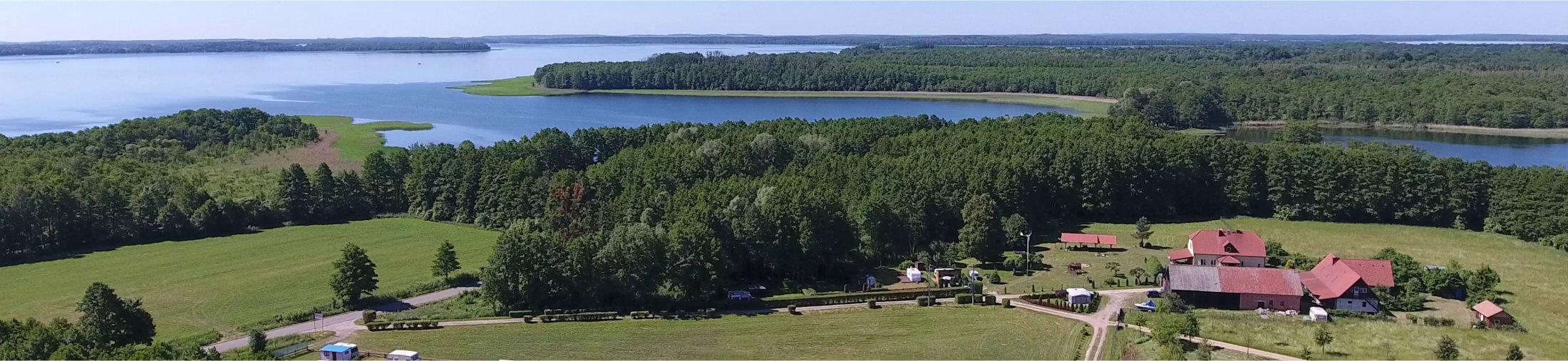 Agroturystyka nad brzegiem jeziora Kirsajty